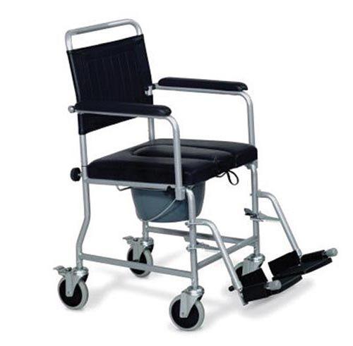 wimed sedia comoda imbottita con rotelle