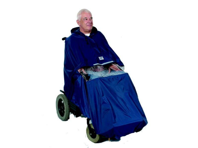 identites poncho telo per sedia a rotelle elettrica