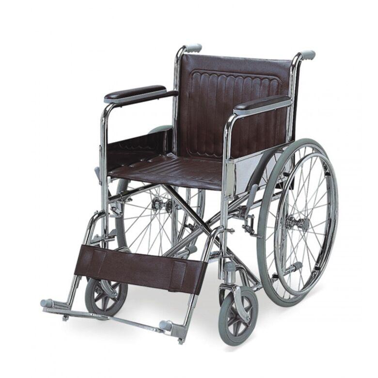 ausilium sedia a rotelle standard pieghevole ad autospinta