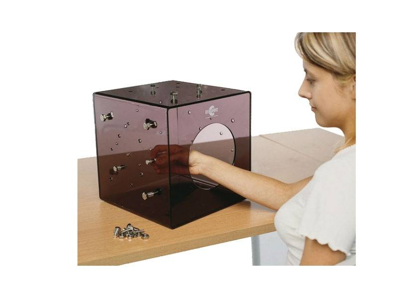 Chinesport Cubo in Plexiglass Cubo Therapy Cm 30 X 30 X 30