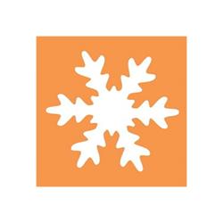 CWR Fustella Fiocco di neve 50 mm