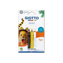Giotto Make up tiger - matita per makeup - nero, giallo, bianco (pacchetto di 3) 473300