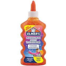 Elmers Colla glitterata 177 ml - Arancione