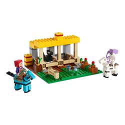 LEGO Minecraft 21171 - la scuderia - set costruzioni 21171a