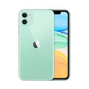 Apple Smartphone iPhone 11 Verde 128 GB Single Sim Fotocamera 12 MP