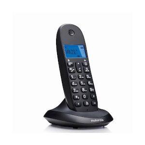 Motorola Telefono cordless C1001LB Nero