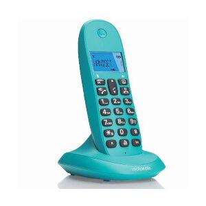 Motorola Telefono fisso C1001LB Turchese