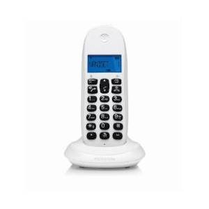 Motorola Telefono fisso C1001LB Bianco