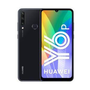 Huawei Smartphone Y6P Black 64 GB Dual Sim Fotocamera 13 MP