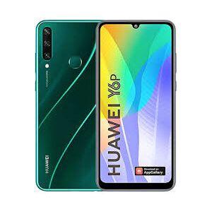 Huawei Smartphone Y6P Green 64 GB Dual Sim Fotocamera 13 MP