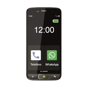 Saiet Smartphone STS502 Nero 8 GB Dual Sim Fotocamera 8 MP