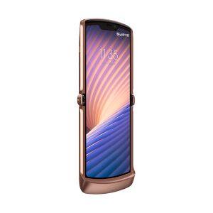 Lenovo Smartphone Razr 5G Blush Gold 256 GB Single Sim Fotocamera 48 MP