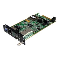 Startech Adattatore di rete .com modulo scheda per convertitori multimediali in fibra gigabit ether