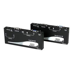startech switch kvm .com extender console kvm vga usb via cavo utp cat5 a lungo raggio sv56