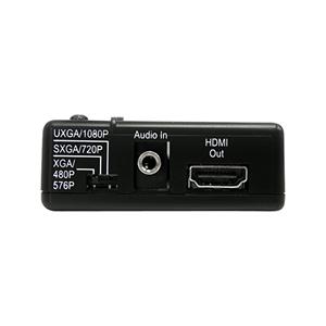 Startech .com convertitore video composito e s-video a hdmi con audio vid2hdcon