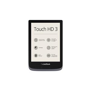 PocketBook eBook reader Touch HD 6'' 16GB Grigio Metal