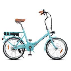 Smartway Bicicletta F3-L1S6-A - Ruote 20'' - Velocità massima 23 km/h - Autonomia 22 km - Turchese
