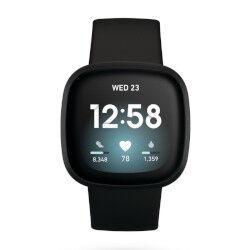 fitbit smartwatch versa 3 nero