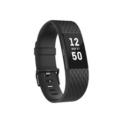 Fitbit Sportwatch CHARGE 2 NERO CANNA DI FUCILE - Tg.