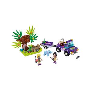 LEGO Friends 41421 - salvataggio nella giungla dell'elefantino 41421a