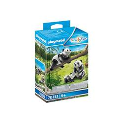 PlayMobil Family fun - pandas with cub - set costruzioni 70353b