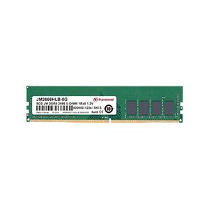 Transcend Memoria RAM Jetram - ddr4 - 8 gb - dimm 288-pin - senza buffer jm2666hlg-8g
