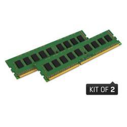 Kingston Memoria RAM Valueram - ddr3 - kit - 16 gb: 2 x 8 gb - dimm a 240 pin kvr16n11k2/16