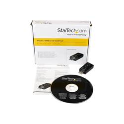 startech scheda audio .com scheda audio esterna adattatore audio usb stereo virtual 7.1 icusb
