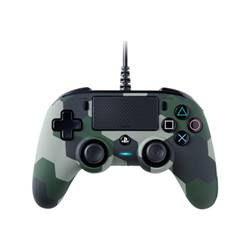 bigben interactive controller nacon compact - game pad - cablato ps4ofcpadcamgreen