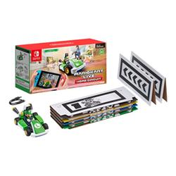 nintendo videogioco mario kart live home circuit - set luigi 10004631