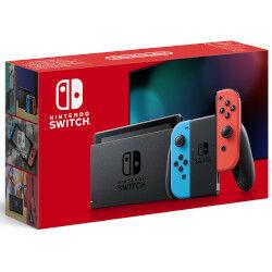 nintendo console switch console da gioco portatile nero, blu, rosso 15,8 cm (6.2'') 32 gb wi-fi