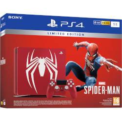 Sony Console PS4 1TB + Spider Man Limited Edition