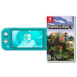 Nintendo Switch Lite Turchese + Minecraft