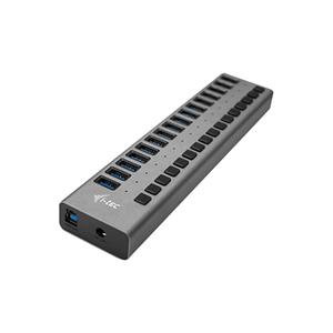 I-TEC Usb 3.0 charging hub 16 port + power adapter 90 w - hub - 16 porte u3chargehub16