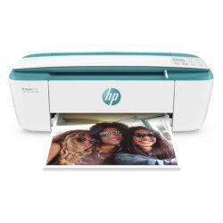 hp multifunzione inkjet deskjet 3762 stampa copia scanner a colori 19ppm bianca e verde t8x23b