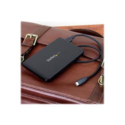 startech box hard disk esterno .com box esterno usb 3.1 (10 gbps) senza utensili per ssd/hdd 2,5'' s251