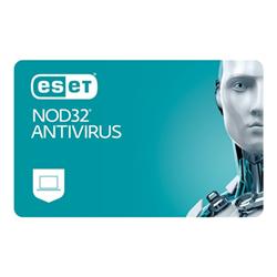 nod32 software eset  antivirus - licenza a termine (1 anno) - 2 utenti 106t21y-n