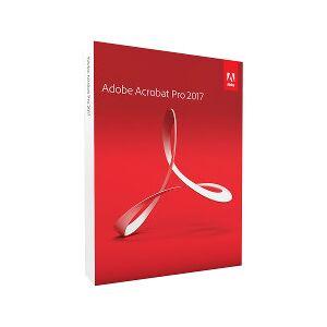 Adobe Software Acrobat pro 2017 - box pack - 1 utente 65280527