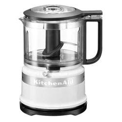 kitchenaid tritatutto mini food processor 5kfc3516 bianco pulse 2 velocità