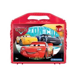clementoni puzzle pixar cars - disney cars cubes - mattoncini da costruzione 41185