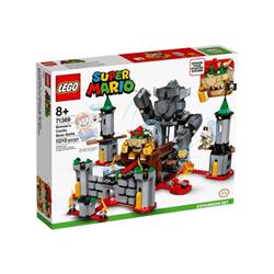 lego super mario - bowser's castle boss battle expansion set - set costruzioni 71369