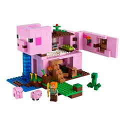 lego minecraft - la pig house - set costruzioni 21170