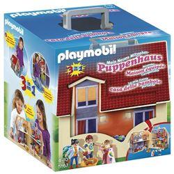 playmobil dollhouse - casa delle bambole moderna portatile - set costruzioni 5167