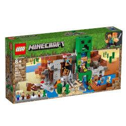 lego minecraft - la miniera del creeper 21155