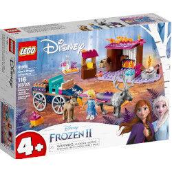 lego disney frozen 2 - l'avventura sul carro di elsa 41166c