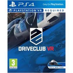 sony videogioco driveclub vr ps4