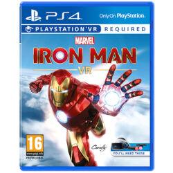 sony videogioco marvel's iron man vr ps4