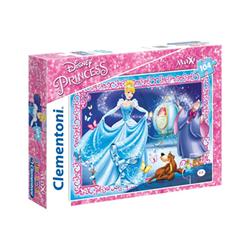 clementoni puzzle supercolor maxi disney princess - cendrillon 23671