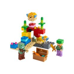 lego minecraft 21164 - la barriera corallina - set costruzioni 21164a