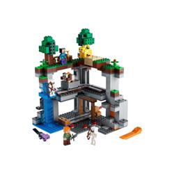 lego minecraft - la prima avventura - set costruzioni 21169